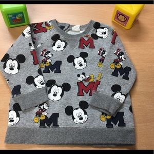 💟 H&M Mickey Mouse sweater